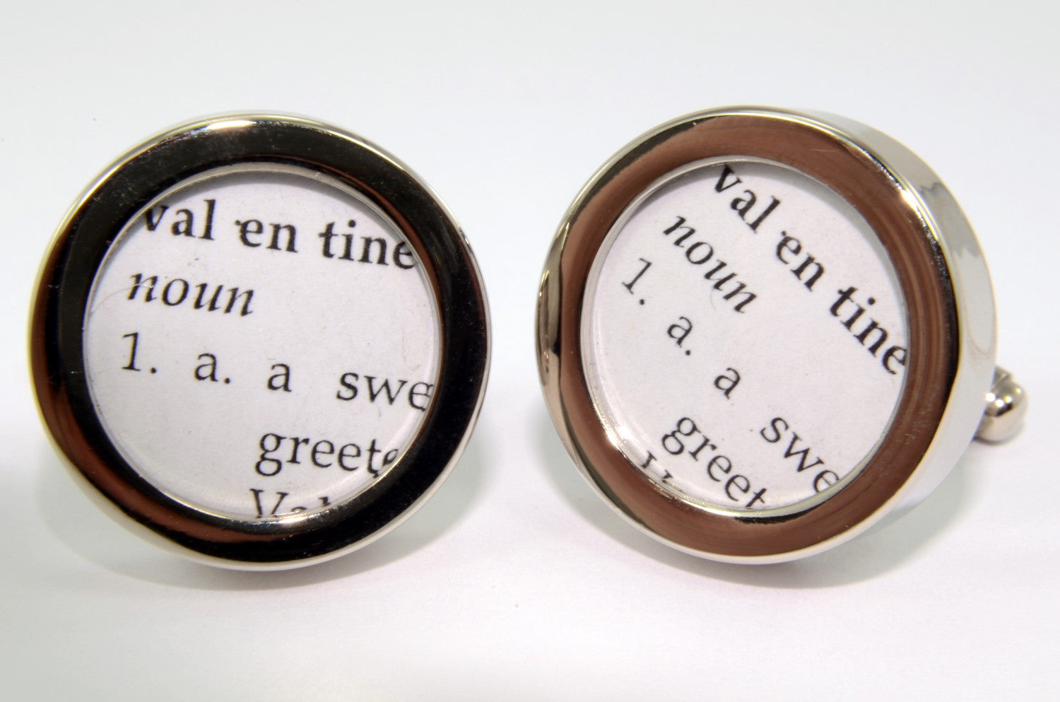 Definition of VALENTINE Cuff links - Gwen Delicious Jewelry Designs