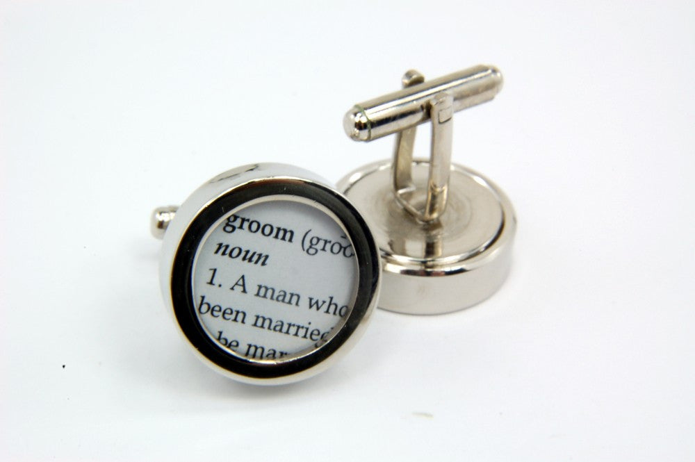 Groomsman Cufflinks  - Wedding - Cuff links - Gwen Delicious Jewelry Designs