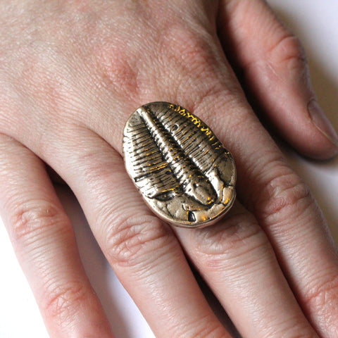 Trilobite Fossil Ring