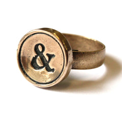 Simple Personalized Initial Ring