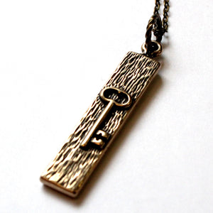 Skeleton Key Necklace - Gwen Delicious Jewelry Designs