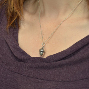Acorn Necklace - Gwen Delicious Jewelry Designs