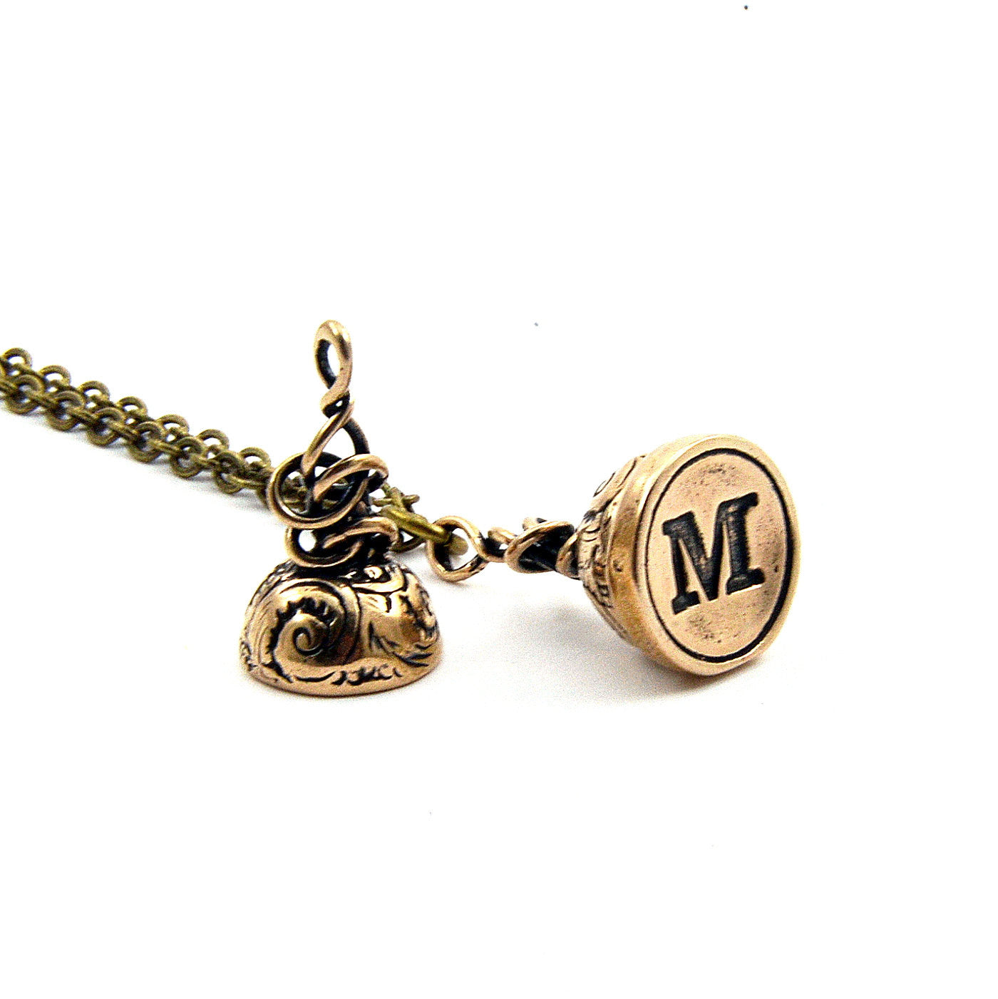 letter necklace script shop the customized pendant custom with breakpoint gld me