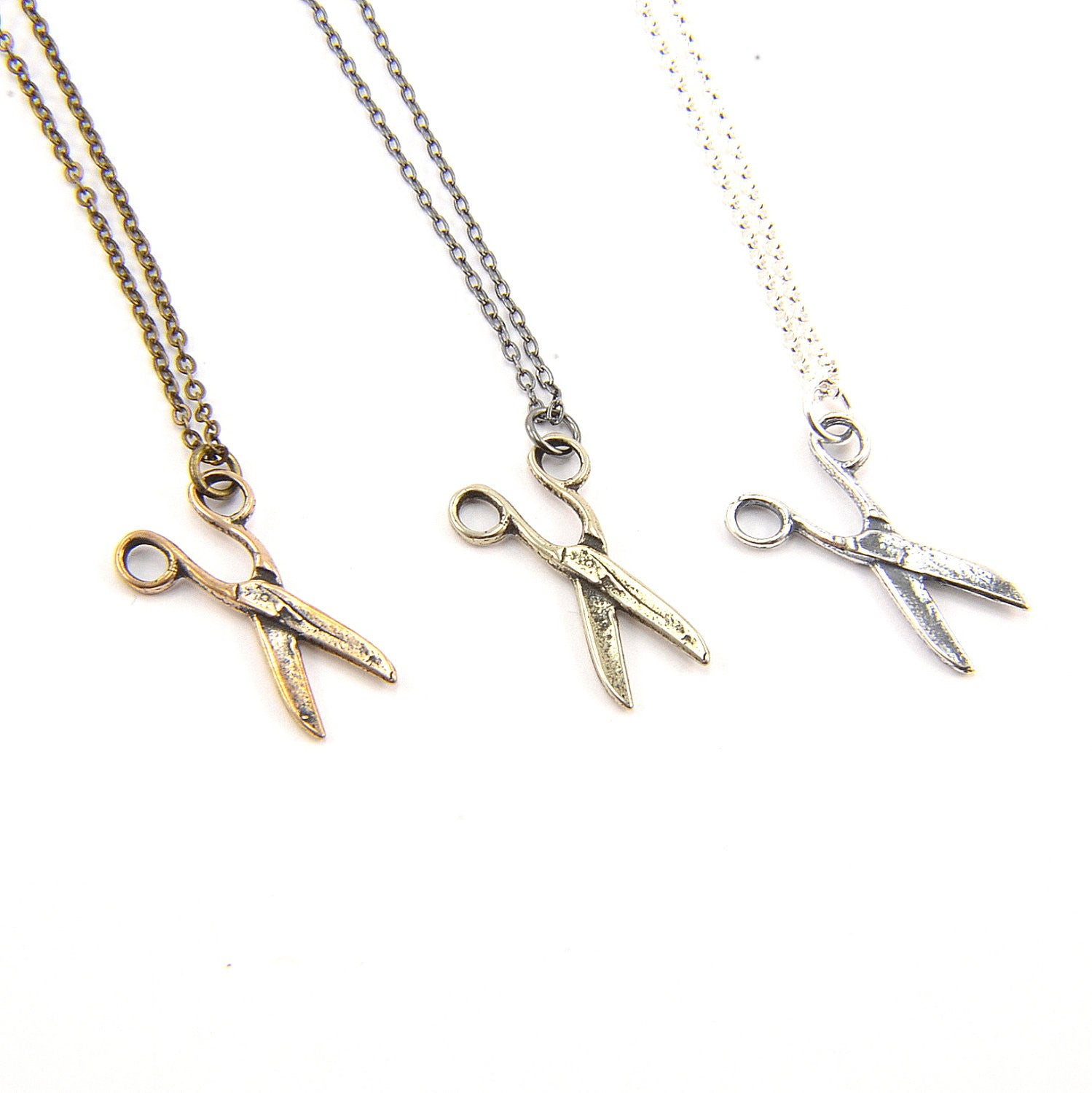 Scissors Necklace - Gwen Delicious Jewelry Designs