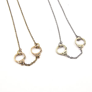 Handcuff Necklace - Gwen Delicious Jewelry Designs