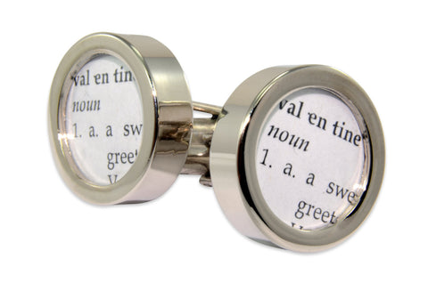 Definition of VALENTINE Cuff links