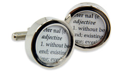 Definition of ETERNAL- Love - Wedding Cuff links