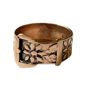 Belt Buckle Ring - Gwen Delicious Jewelry Designs