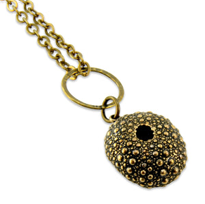 Sea Urchin Necklace - Gwen Delicious Jewelry Designs