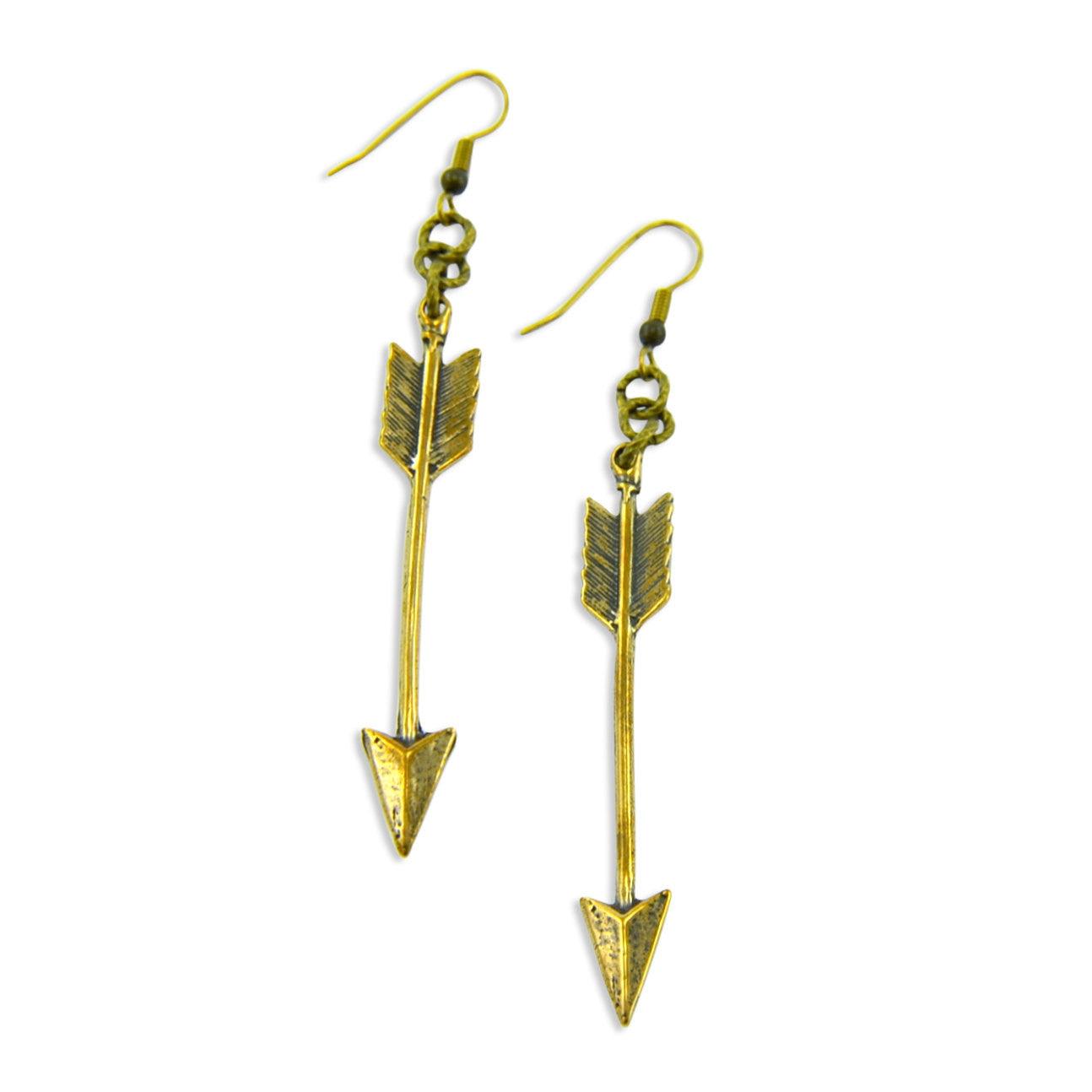 Arrow Earrings - Gwen Delicious Jewelry Designs