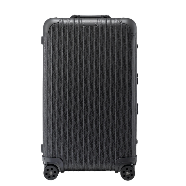 Black Dior and Rimowa Trunk Suitcase - kikiti