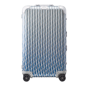 Blue Dior and Rimowa Trunk Suitcase - kikiti