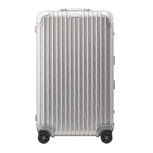 Sliver Dior and Rimowa Trunk Suitcase - kikiti