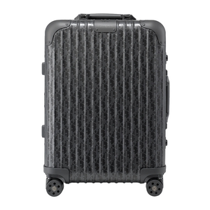Black Dior and Rimowa Cabin Suitcase - kikiti