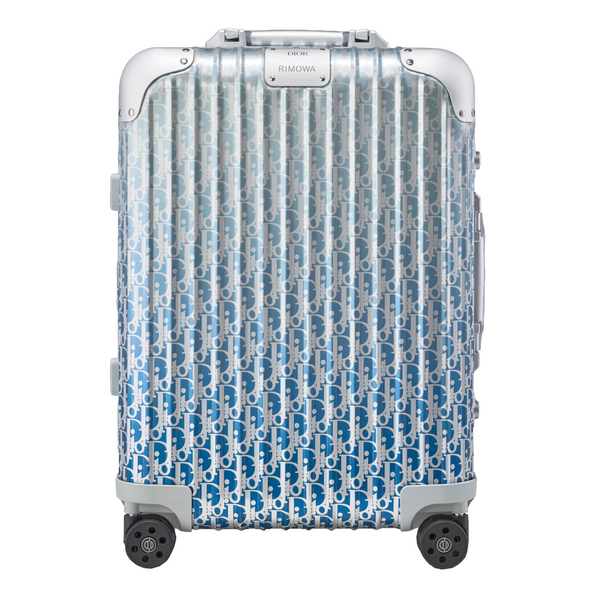 Blue Dior and Rimowa Cabin Suitcase - kikiti