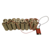 12v 24ah 20A(BMS) LiFePO4 LITHIUM IRON PHOSPHATE DIY KIT - CYLINDRICAL 6AH CELLS - Lithium Batteries South Africa