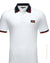 slim fit  patch Italy design polo shirt White