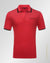 Cotton polka-Dot polo shirt Red