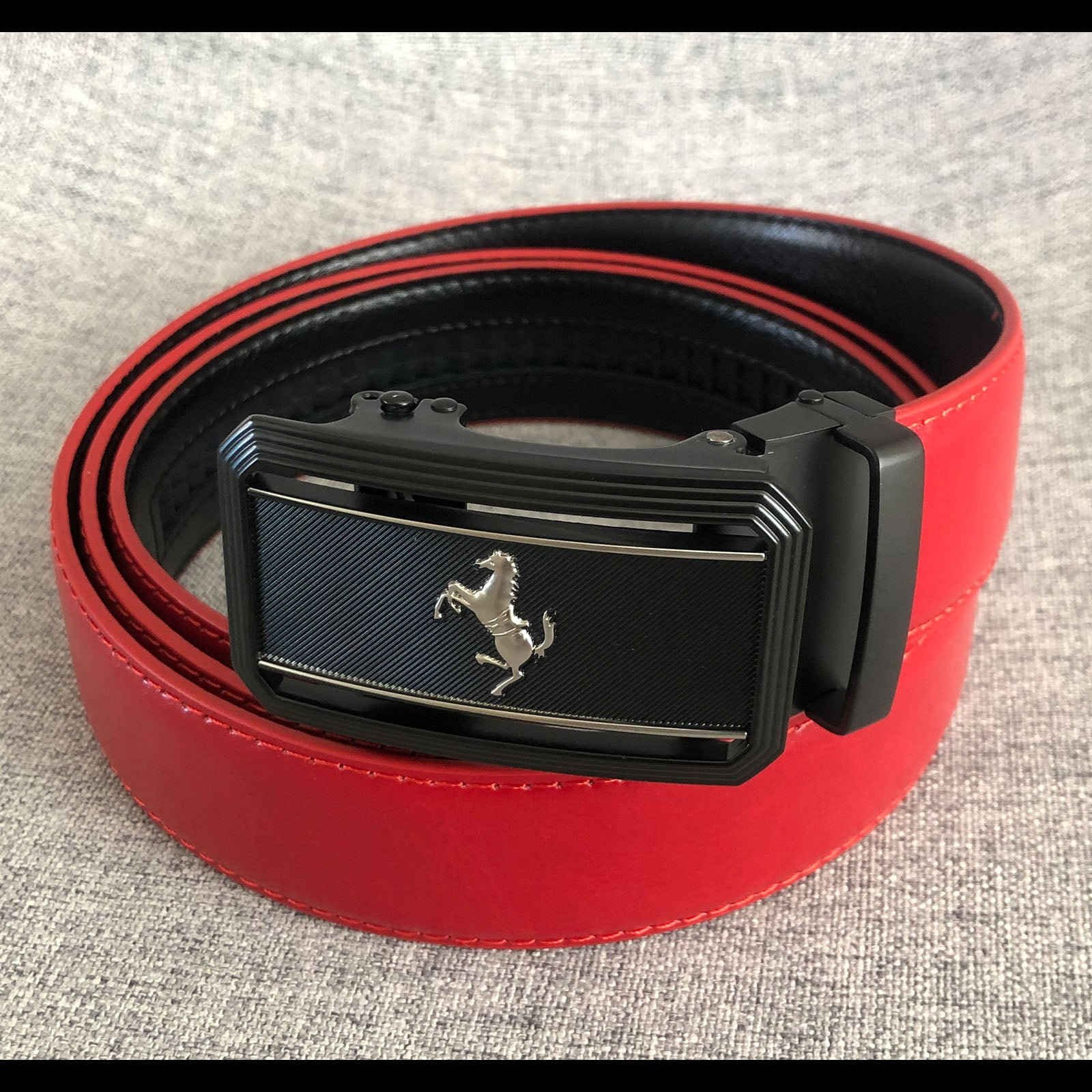 Italy horse automatic belt 5 colors