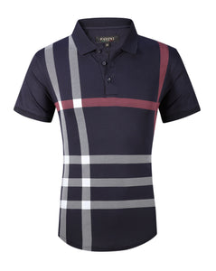 slim fit Pavini polo shirt  PT-922 navy