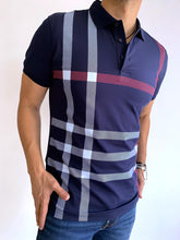 Load image into Gallery viewer, slim fit Pavini polo shirt  PT-922 navy
