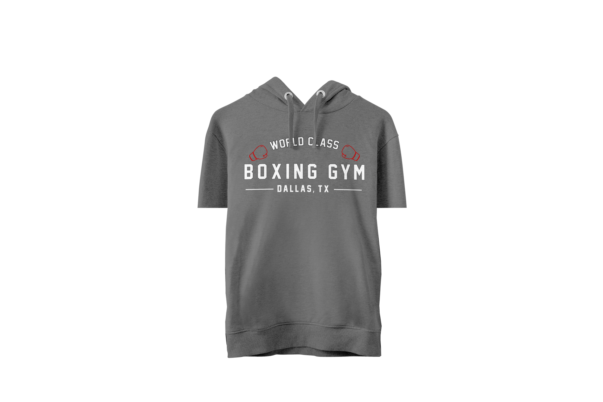 World Class Boxing Gym Short Sleeve Hoodie