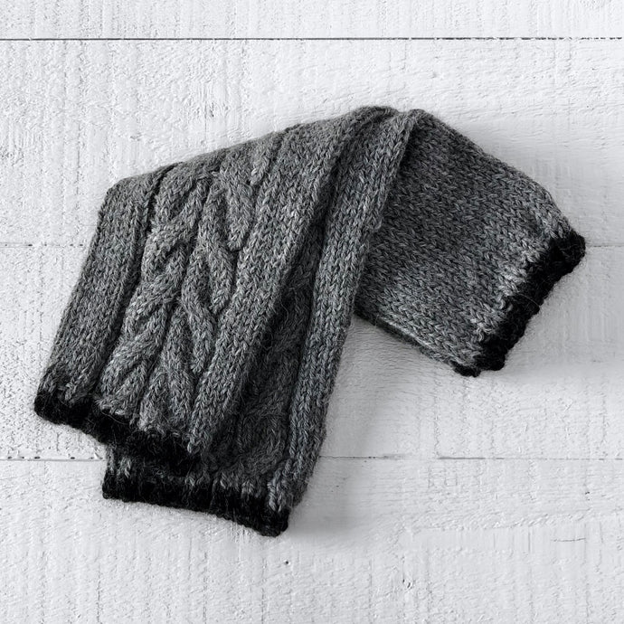 Wristwarmers (grey/charcoal)