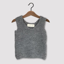 Load image into Gallery viewer, Loose knit vest (grey)
