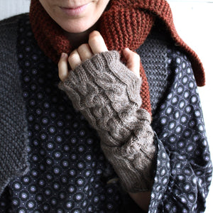 Wristwarmers (brown)