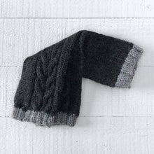 Load image into Gallery viewer, Wristwarmers (charcoal/grey)