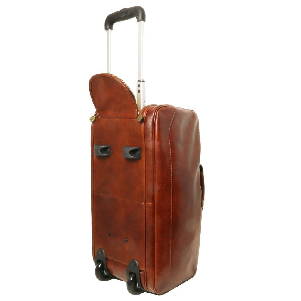 Samoa Trolley leather bag - Small size