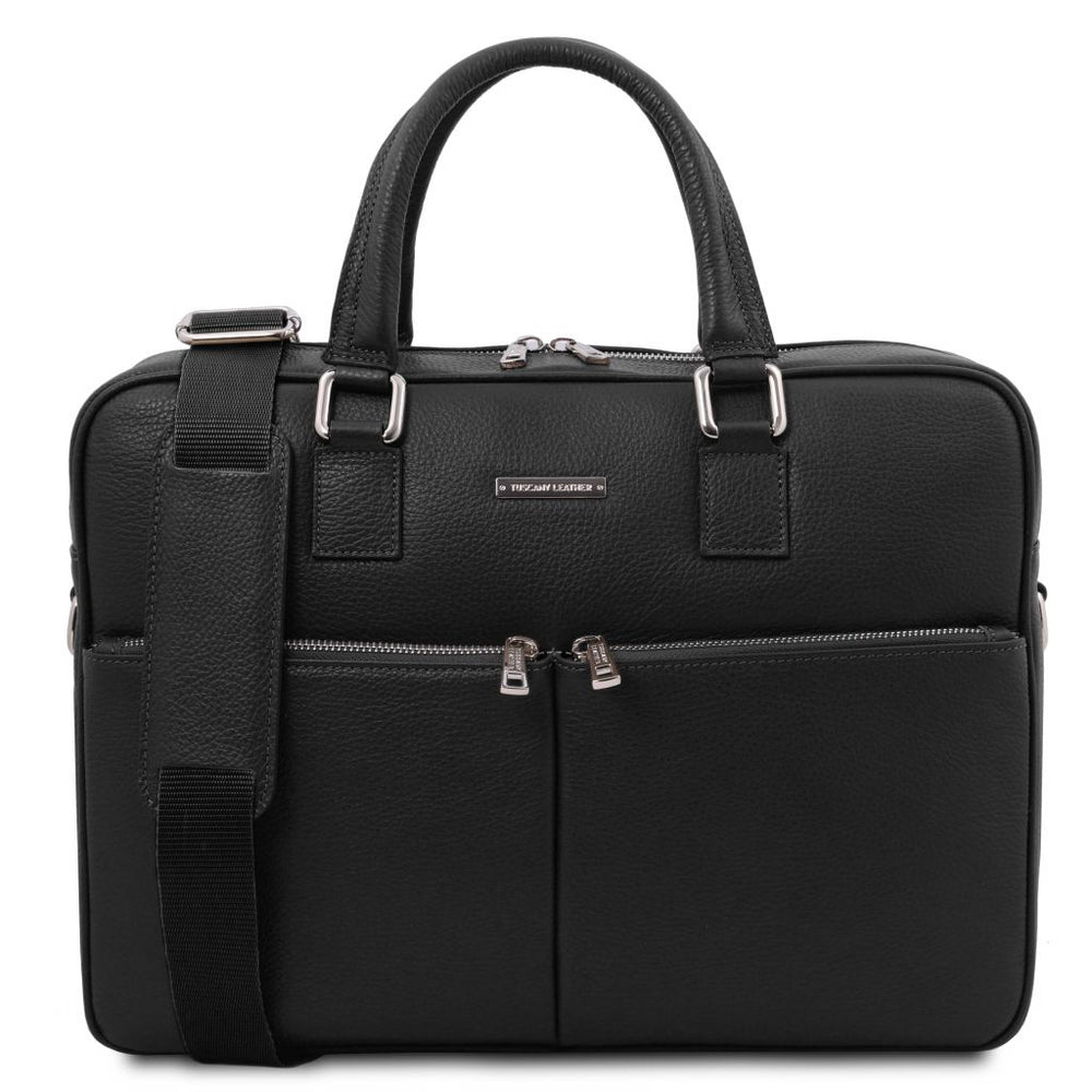 Treviso Leather laptop briefcase