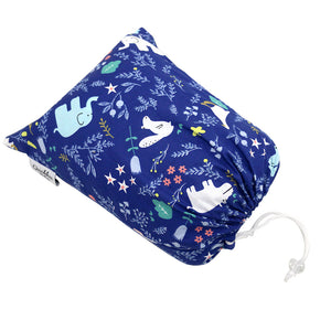 Breastfeeding Arm Support Pillow, Tummy-Time Pillow, Toddler Pillow  - Blue