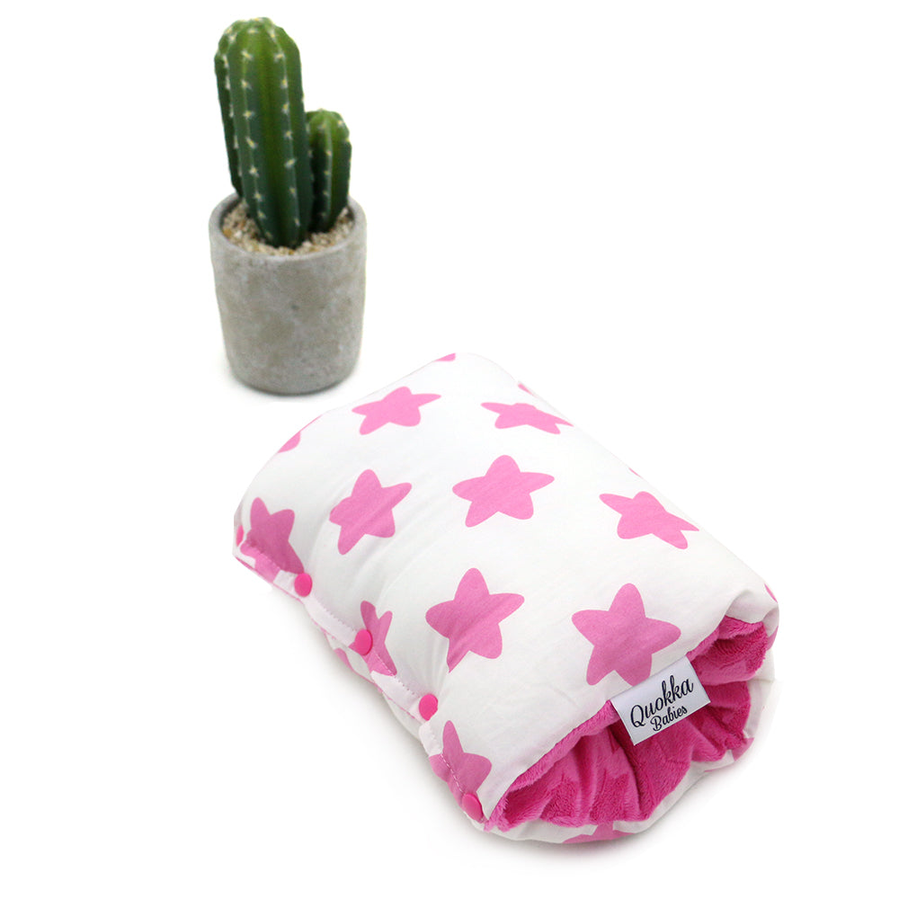 Breastfeeding Arm Support Pillow, Tummy-Time Pillow, Toddler Pillow (Pink)