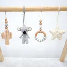 Load image into Gallery viewer, Handmade Hanging Crochet Koala Toys Set
