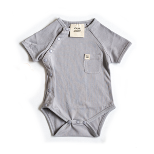 Organic Short-Sleeves Bodysuit