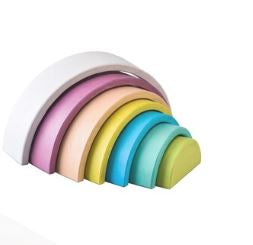 Wooden Stacking Rainbow - Vintage