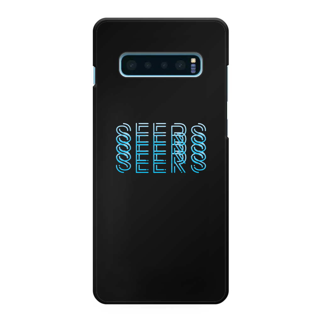 Seers fade Printed Black Hard Phone Case - The Seers Playing Cards