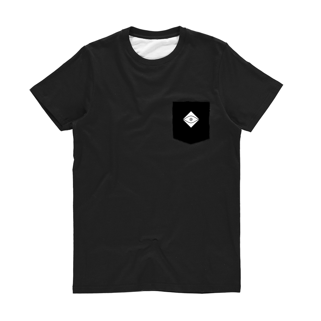 Seers Dark Classic Sublimation Pocket T-Shirt - The Seers Playing Cards