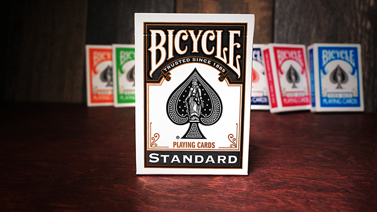 Bicycle Black Playing Cards  by US Playing Card Co - The Seers Playing Cards