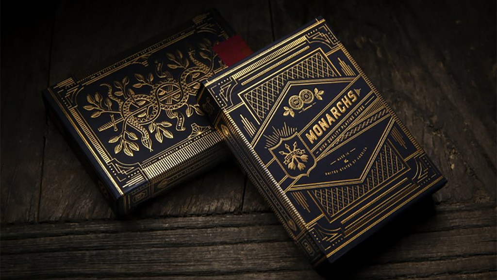 Monarch Playing Cards by theory11 - The Seers Playing Cards