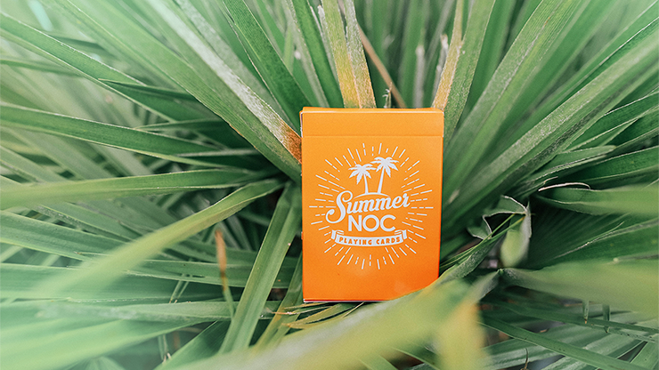 Limited Edition Summer NOC (Orange) Playing Cards - The Seers Playing Cards