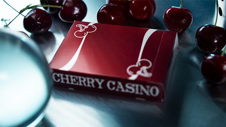 Cherry Casino (Reno Red) Playing Cards By Pure Imagination Projects - The Seers Playing Cards