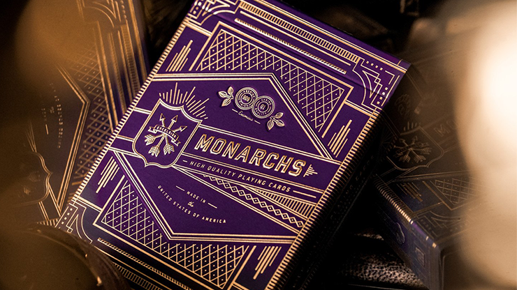 Monarch Royal Edition (Purple) Playing Cards by theory11 - The Seers Playing Cards