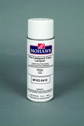 Pre-Catalyzed Clear Finish