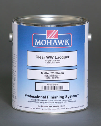 Clear WW Laquer Sealer 550 VOC