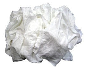Y-Pers New White Cotton T-Shirt Rags