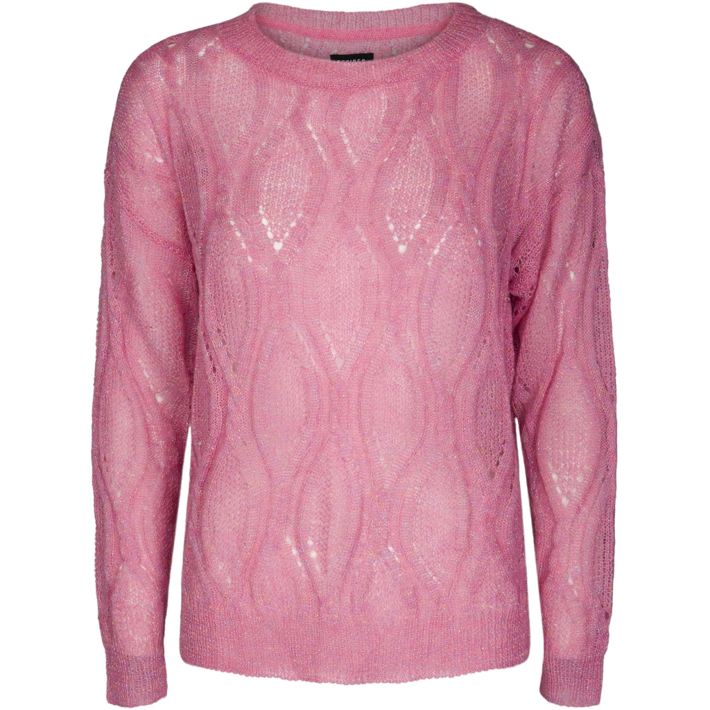 Desires Angela Strik Pullover 4038 PINK CARNATION