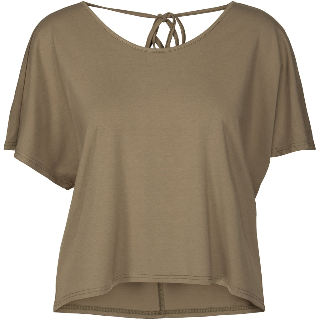 Desires Fiola Top T-Shirt 3792 COVERT GREEN