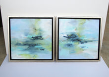 Load image into Gallery viewer, To The Shore #1 & #2 Set - 10x10 Oil on Panel